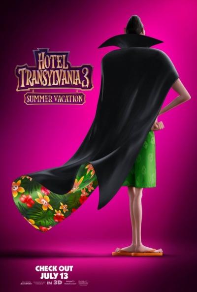 Poster Hotel Transilvania 3: Unas Vacaciones Monstruosas