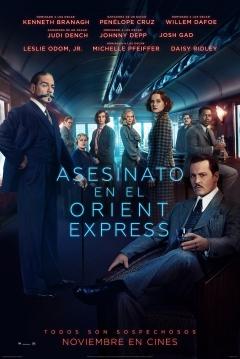 Poster Asesinato en el Orient Express (Remake)