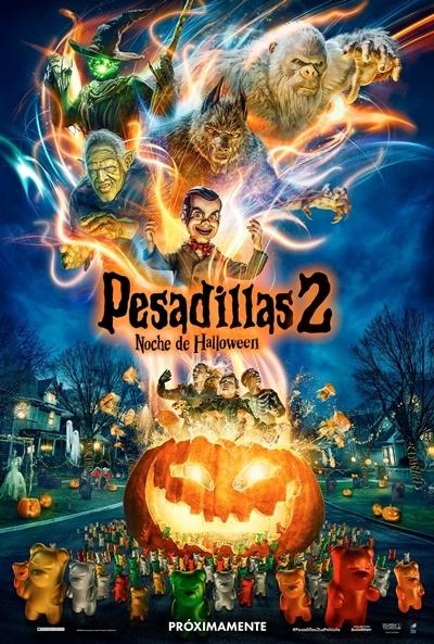 Poster Pesadillas 2: Noche de Halloween