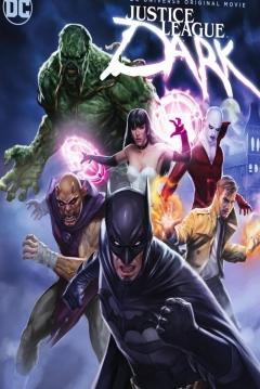 Poster La Liga de la Justicia Oscura