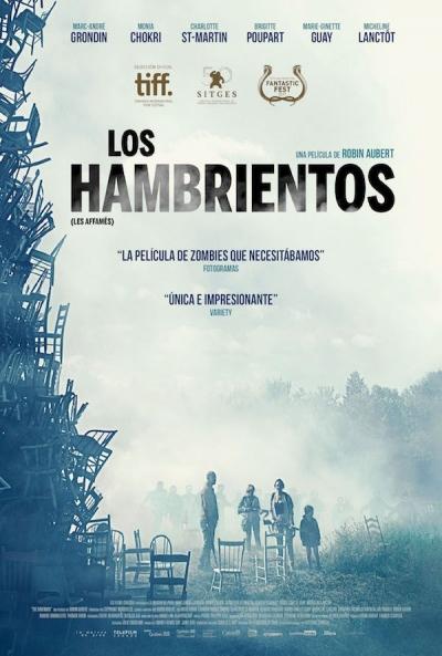 Poster Los Hambrientos