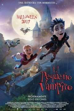 Poster El Pequeño Vampiro 3D