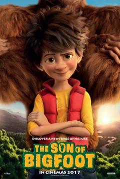Poster El Hijo de Bigfoot