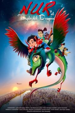 Poster Nur y el Templo del Dragón