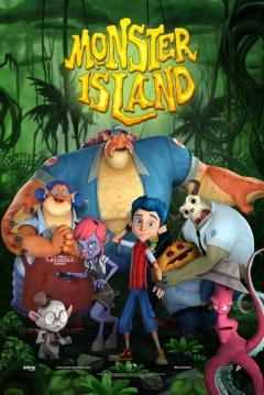 Poster Monster Island