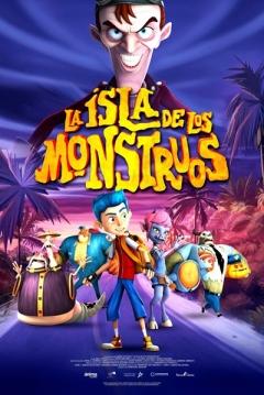 Poster La Isla de los Monstruos