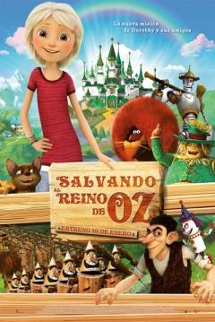 Poster Salvando al Reino de Oz
