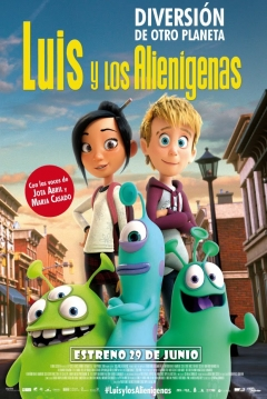 Poster Luis y los Alienígenas