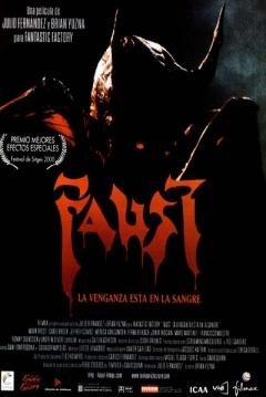 Poster Faust: La Venganza est� en la Sangre