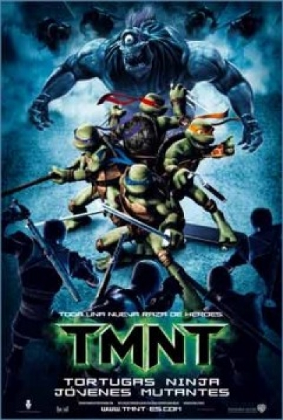 Poster Tortugas Ninja J�venes Mutantes