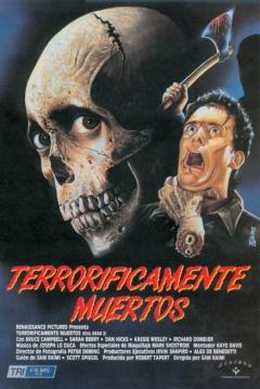 Poster Terroríficamente Muertos