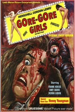 Poster Las Chicas Gore