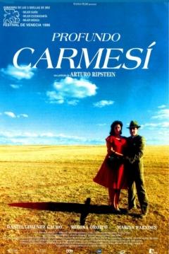 Poster Profundo Carmesí