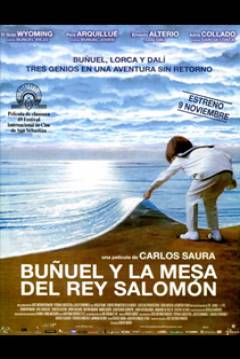 Poster Buuel y la mesa del rey Salomn