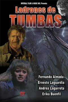 Poster Ladrones de Tumbas