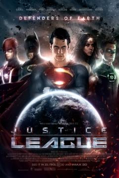 Poster La Liga de la Justicia - 1ª Parte