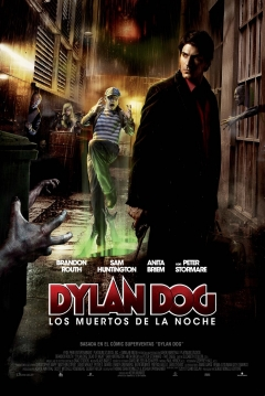 Poster Dylan Dog: Los Muertos de la Noche