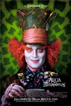 Poster Alicia en el Pa�s de las Maravillas (2010)
