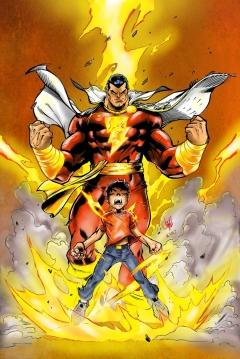 Poster Shazam (Capitán Marvel)