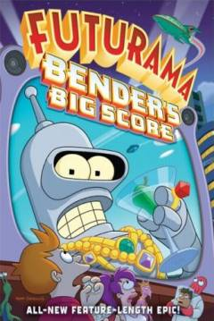 Poster Futurama: El Gran Golpe de Bender