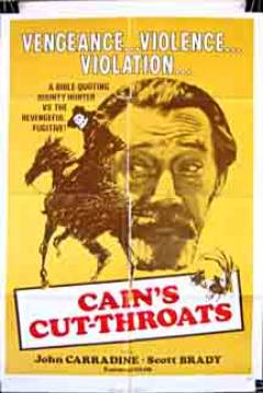 Poster Cain's Cutthroats