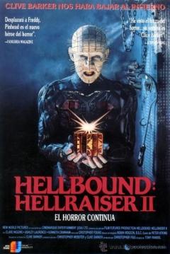 Poster Hellraiser 2: Hellbound