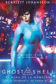 Poster Ghost in the Shell: El Alma de la Máquina (Remake)