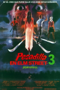 Poster Pesadilla en Elm Street 3: Dream Warriors