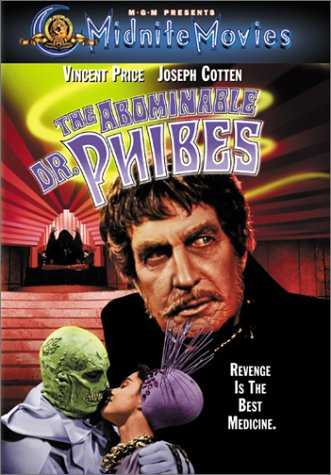 Poster El Abominable Dr Phibes