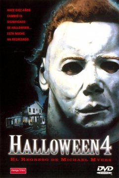 Poster Halloween 4: El Regreso de Michael Myers