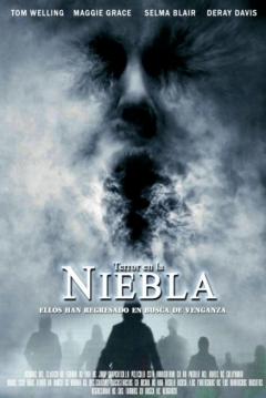 Poster Terror en la Niebla