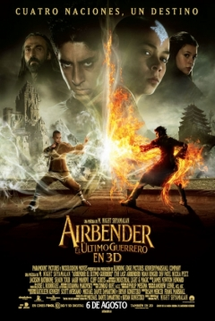 Poster Airbender: El ltimo Guerrero