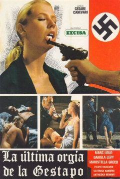 Poster La �ltima Org�a de la Gestapo