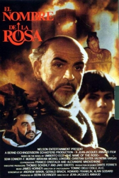 Poster El Nombre De La Rosa