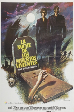 Poster La Noche de los Muertos Vivientes