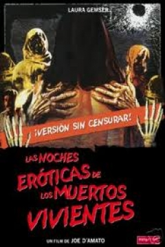 Poster Las Noches Erticas de los Muertos Vivientes