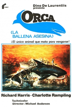 Poster Orca, La Ballena Asesina