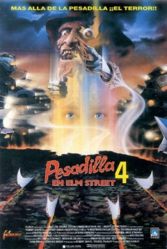 Poster Pesadilla en Elm Street 4: The Dream Master