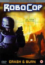 Poster Robocop: Crash and Burn