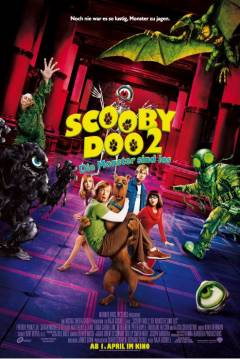 Poster Scooby Doo 2: Desatado