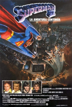 Poster Superman 2: La Aventura Contina