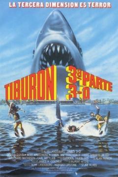 Poster Tiburón 3: El Gran Tiburón (Jaws 3D: El Gran Tiburón)