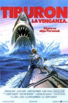 Poster Tiburón 4: La Venganza