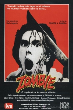 Poster Zombie (Zombi)