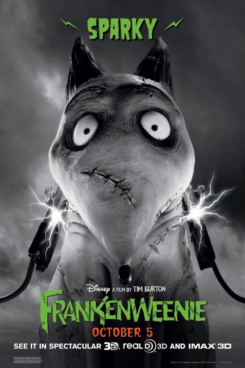 9 poster de frankenweenie