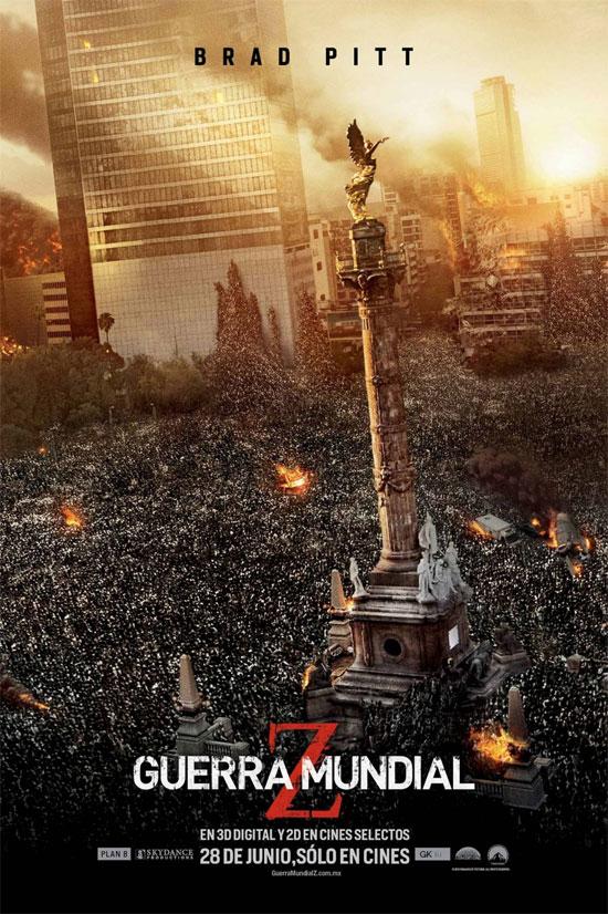 poster pelicula guerra mundial z