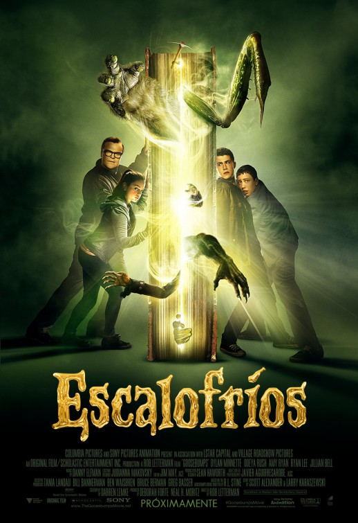 Pel cula pesadillas 2015 goosebumps escalofr os for Ver one day online
