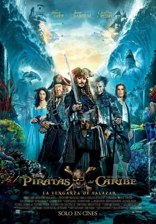 Resultado de imagen para piratas del Caribe la venganza de Salazar
