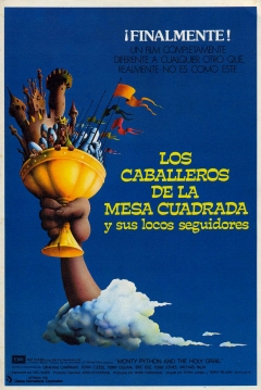 Poster Los Caballeros de la Mesa Cuadrada y sus Locos Seguidores