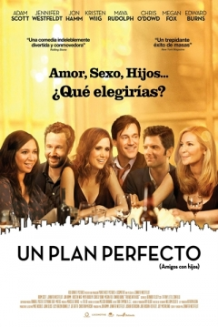 Poster Un Plan Perfecto (amigos con hijos)